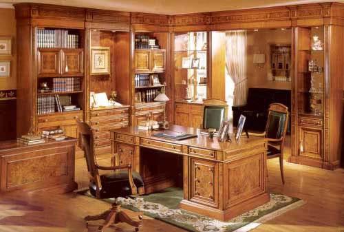仿古书房装修设计 中国风书房装修效果图