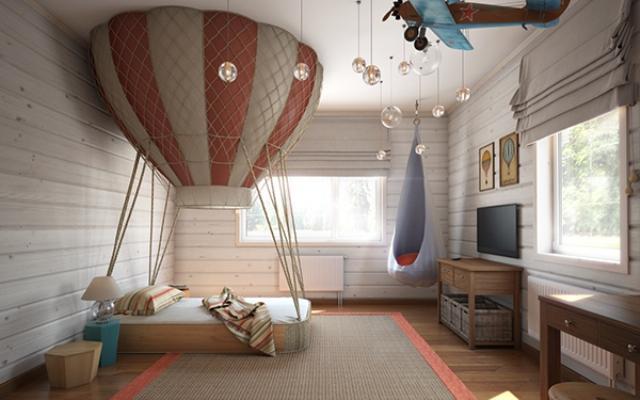 欧式儿童房装修效果图