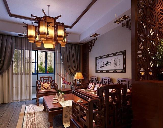 19万打造153㎡中式风格装修 温馨大气的生活住宅