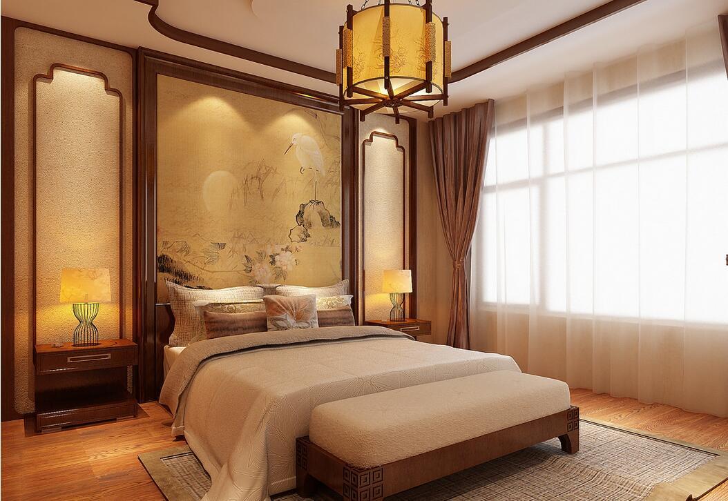 背景墙 房间 家居 酒店 设计 卧室 卧室装修 现代 装修 1054_726