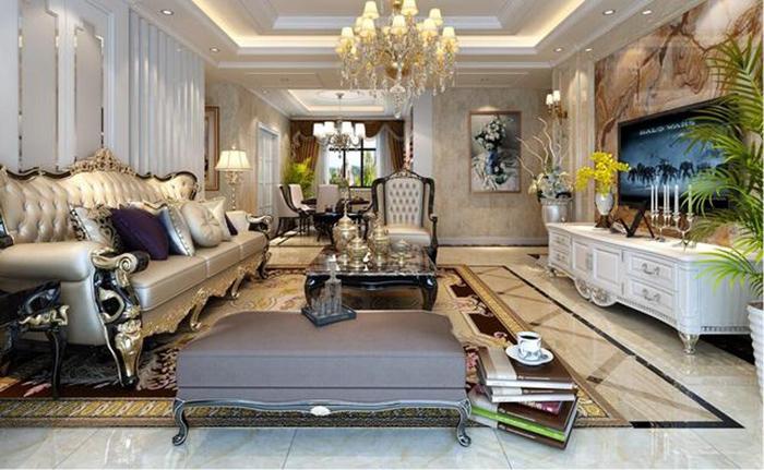 今天装修网小编分享欧式风格装修案例,欧式风格讲究功能齐全舒适性相对普通住宅而言,各个空间都是扩大版,福。这就要求采光合理,颜色搭配清爽明亮,造型点线面简单大气,有高品质生活向往,对空间的构思和想象充满了对成功人事的家居定位。     有不少的欧式设计,它将古典欧式风格的主元素,融入现代的生活元素。