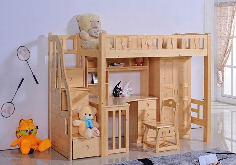 高低床:顾名思义,有高有低的床。最普通的高低床上下每层可以各住一个人,整个床分为四根立柱,两片床屉,两块床板,还有一些零部件组成。每套床的安全性能主要在体现支架的厚度、床板的质量、焊接的牢靠度,生产的工艺。    高低床好吗   如果家里有两个小孩,一家四口人,可以在孩子卧室用高低床,没什么不好的,如果只有一个孩子,上床又没人睡,基本上用不到,只是建议配上楼梯,不是爬梯,这样安全很多,楼梯踢面可以做抽屉。   高低床实用吗   高低床对家里面积比较小的有使用,适合两房一厅的户型,如果家里有两小孩,可以