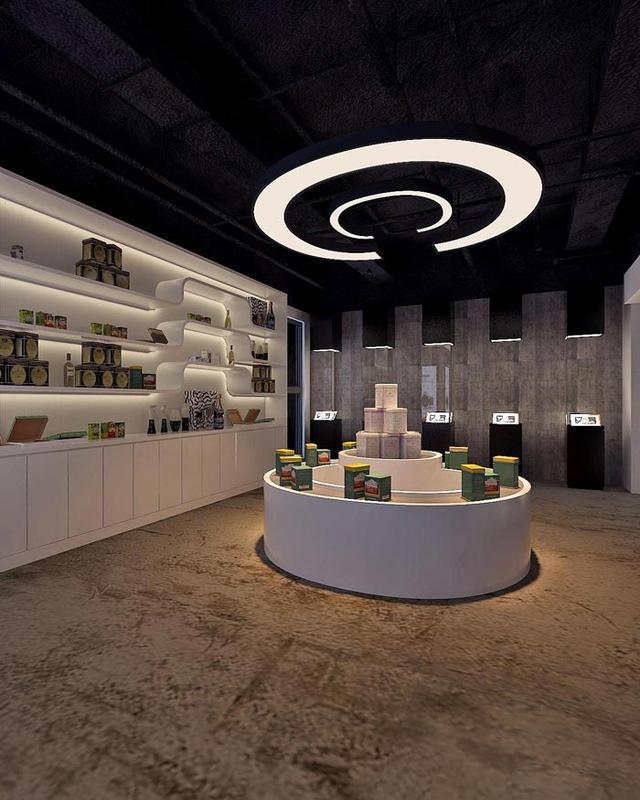 3d产品设计科技公司办公室装修设计案例效果图图片