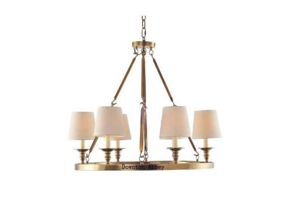 美式全铜吊灯