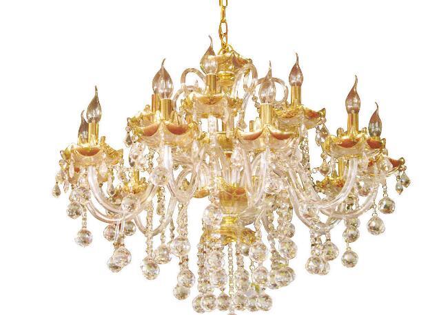 客厅装水晶灯好吗