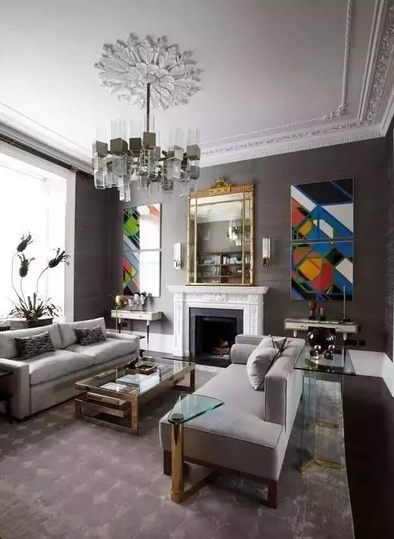 4 描金或彩色石膏线可用于洛可可,巴洛克等欧式古典风格.图片