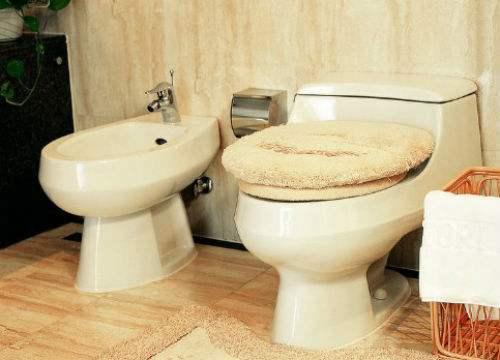 厕所马桶排污管横排图
