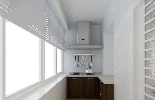 有阳台的厨房装修设计方法