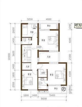 10万农村别墅设计图 教你小户型如何转变成别墅