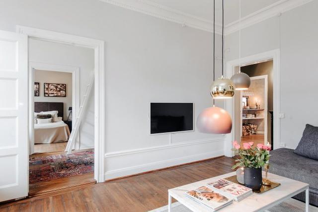 电视背景墙设计,不单是挂个电视机,美上天了!图片