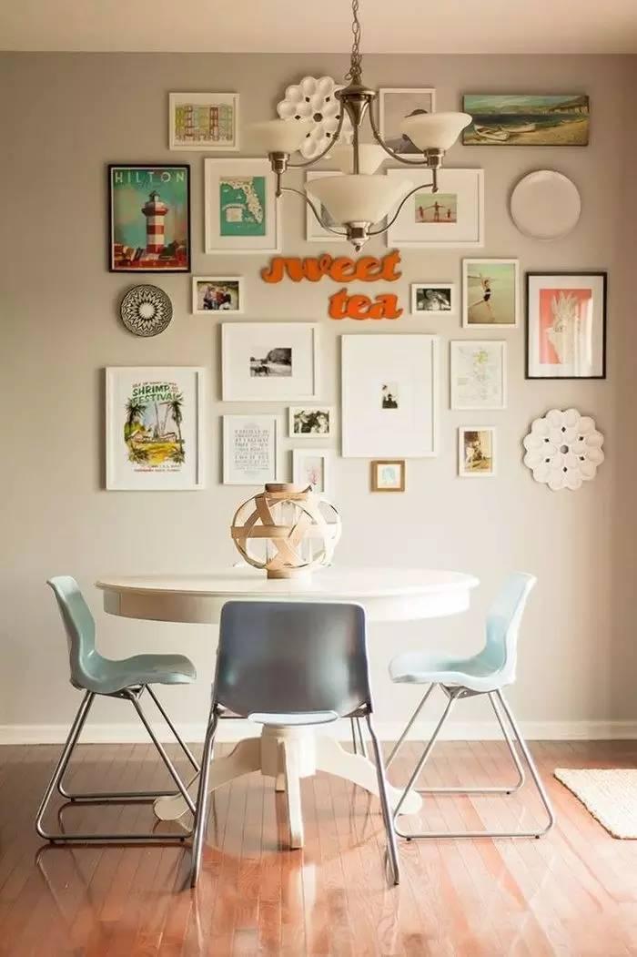 不同房间的照片墙如何摆放更具艺术感,快学起来!