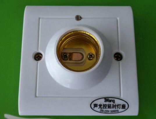 接线图详解       声控开关也被称为声控延时开关