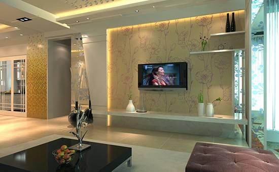 客厅电视背景墙风水