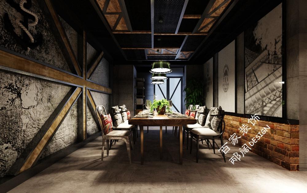 工业风地下室,设计中的摇滚范儿-邴-装修保障网