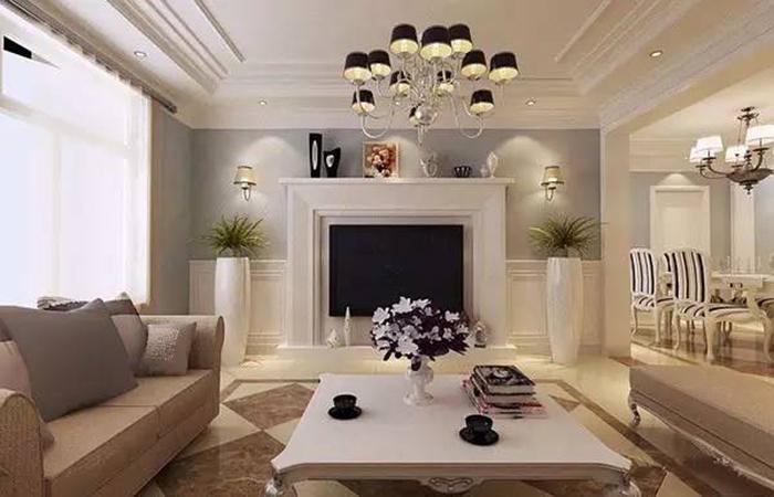 美式客厅吊顶装修,这些新技能你知道吗?