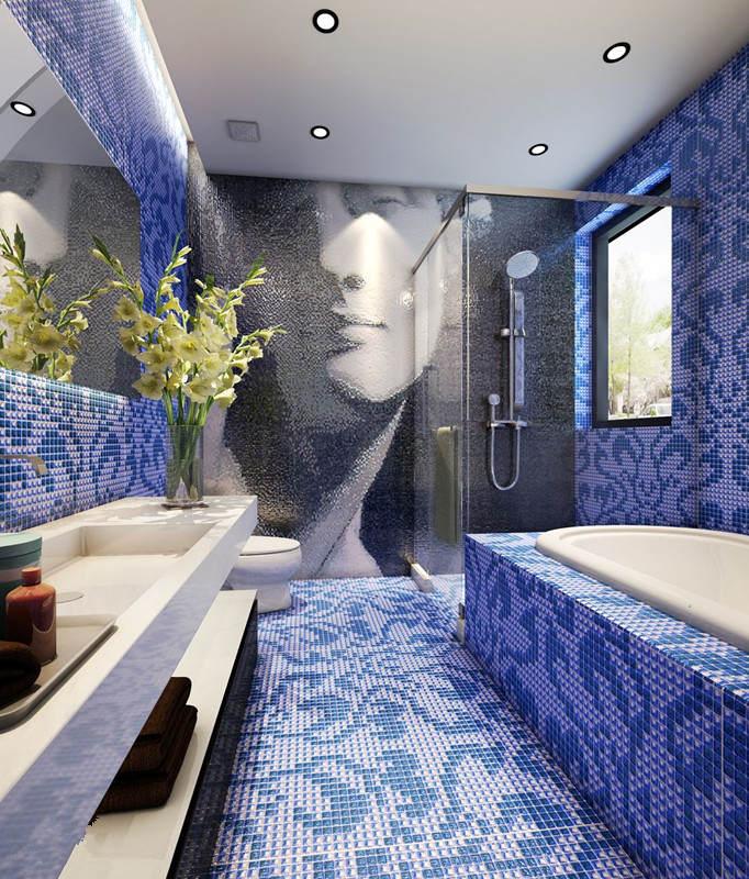 浴池设计图案大全