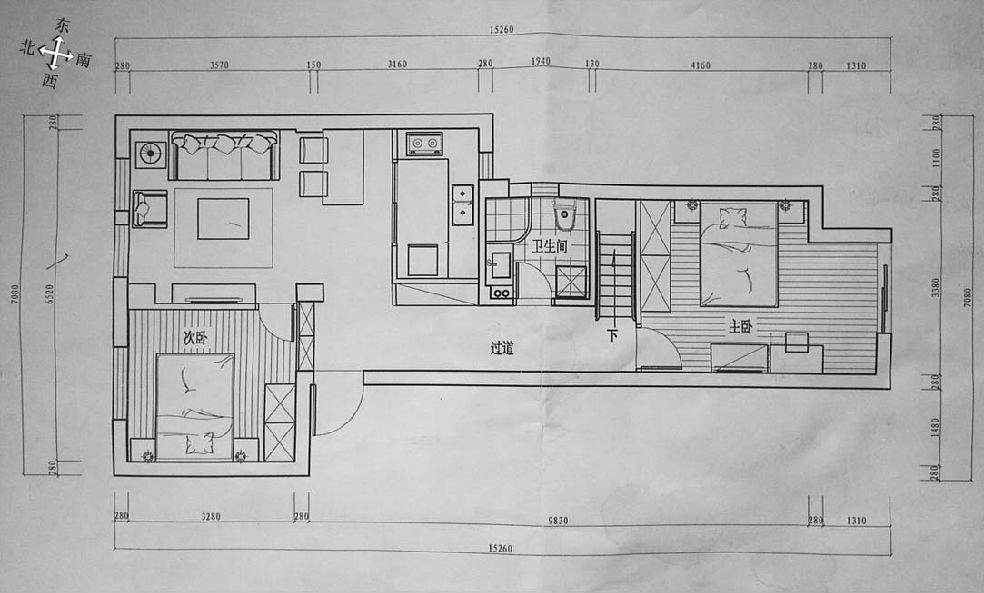 房子装修平面图
