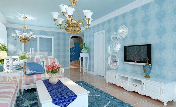 地中海风格家具以其极具亲和力的田园风情及柔和色调和组合搭配上的