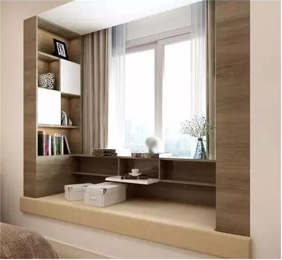 卧室飘窗这样改,比多买10㎡还值! - 装修保障网图片