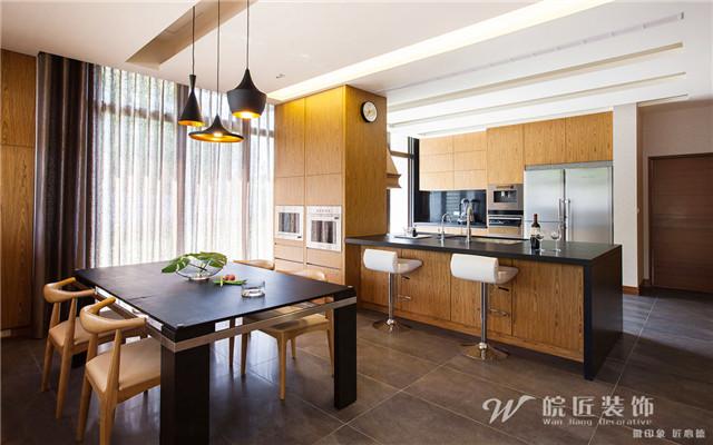 合肥内森庄园420平现代简约风格装修案例欣赏