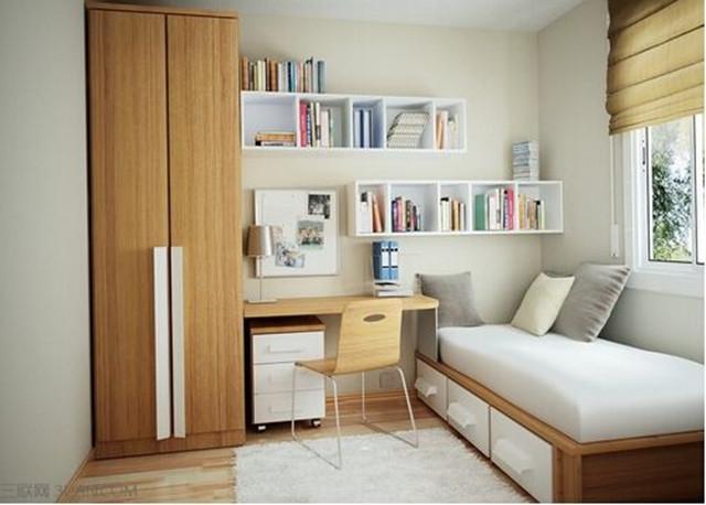 面积小的房间怎么装修 面积小房子如何设计图片