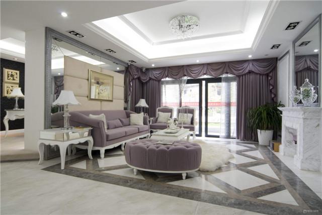 欧式客厅装修 欧式客厅装修设计理念以及颜色搭配