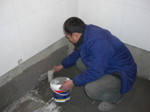家装防水是家庭装修中非常重要的项目,卫浴间防水施工,厨卫间等等