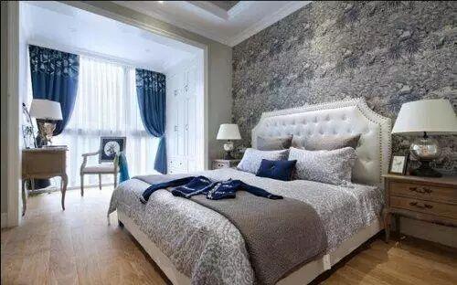 唯美浪漫卧室窗帘装修