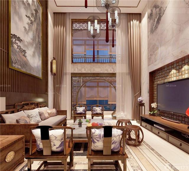 一,挑空客厅凸显尊贵     普通复式楼是两个平层的叠加图片