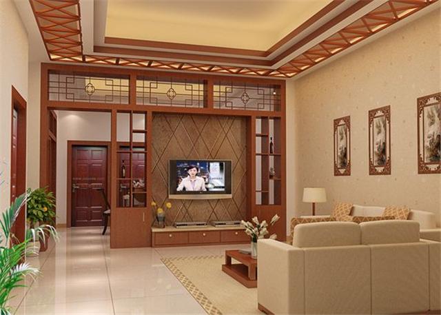 装修保障网 装修学堂 客厅装修 中式客厅装修 中式客厅装修设计