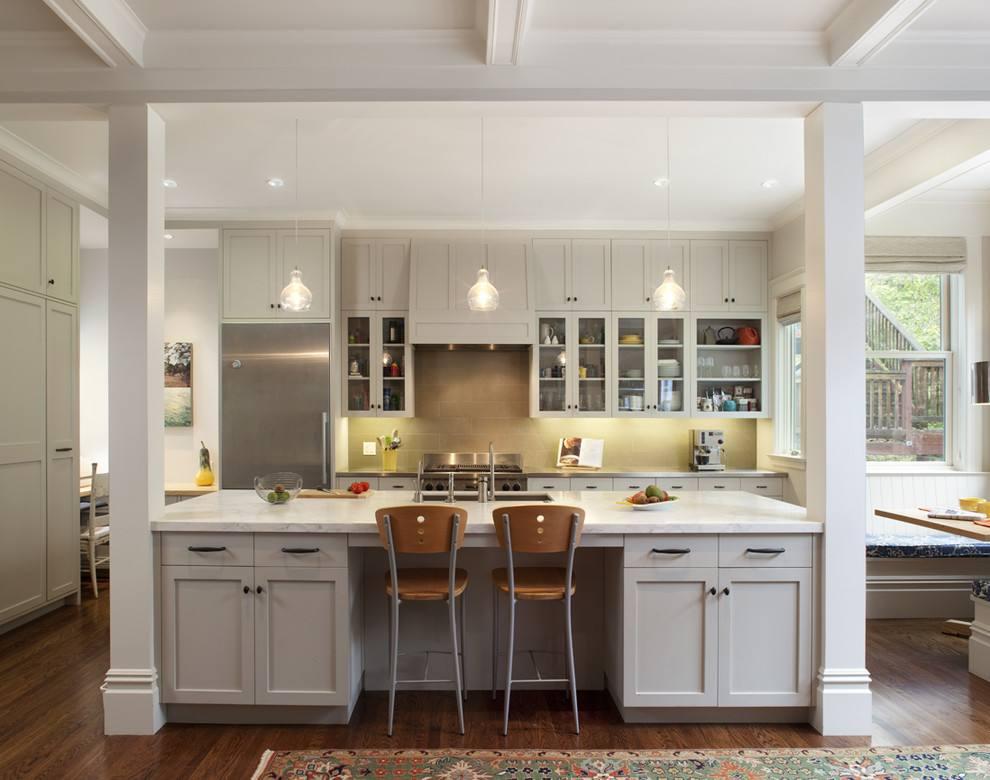 误区3:开放式厨房更适合居家!