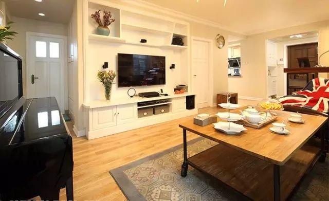 整体家具代替电视背景墙