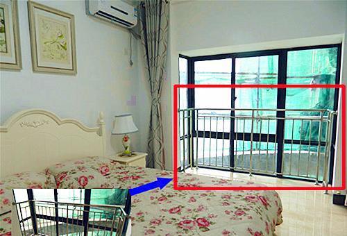 西安高层住宅装修落地窗应该怎么装?