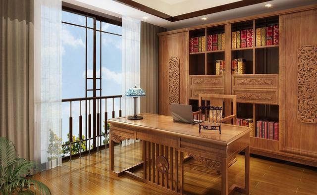 家庭书房装修事项与书房风水禁忌有哪些图片