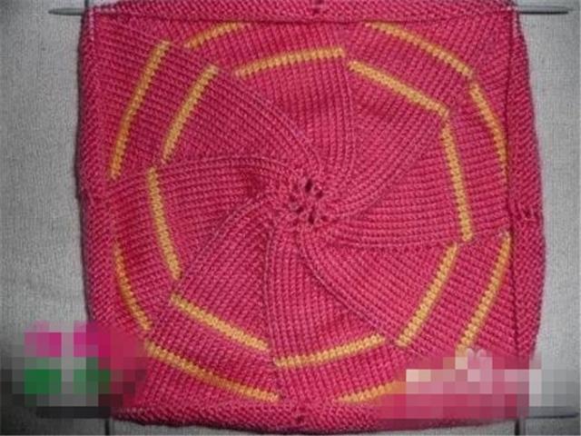 生活小常识:儿童帽子的织法 儿童帽子的织法图解       4,平针放一针2