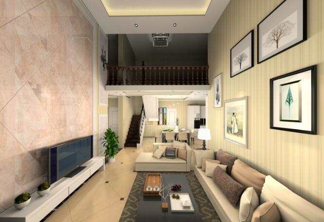 房屋楼中楼楼梯设计分享展示