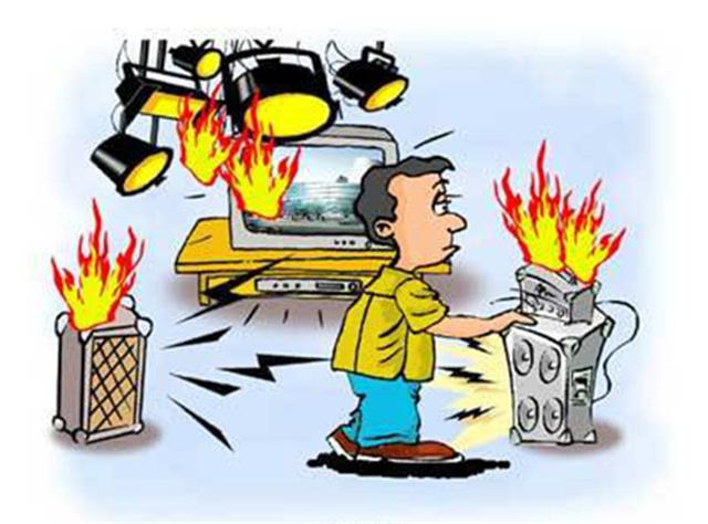 生活小常识:家用电器着火怎么办 如何预防