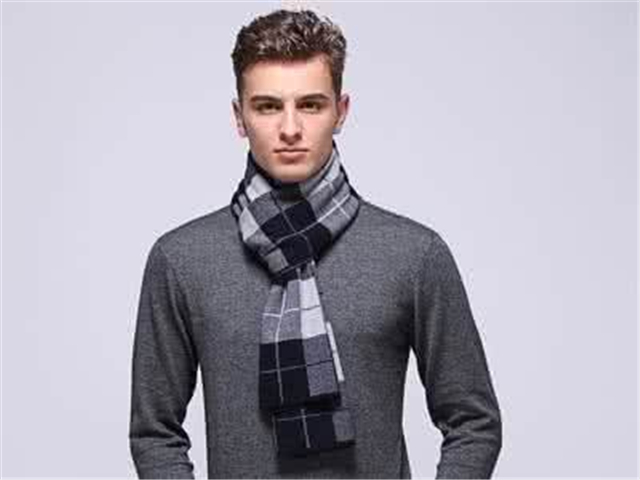 生活小常识:男士围巾的织法 男士围巾的织法图解