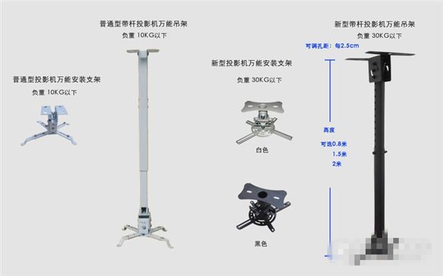 投影仪吊架安装方法