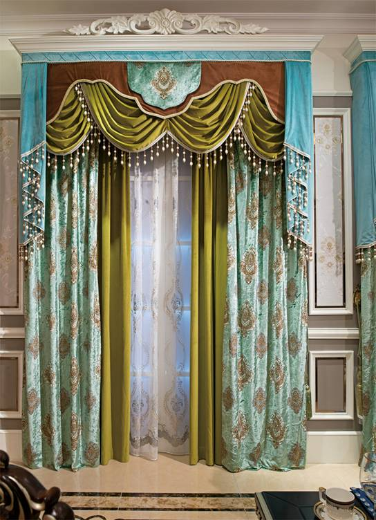 5个颜色搭配技巧 用窗帘搭出欧式经典