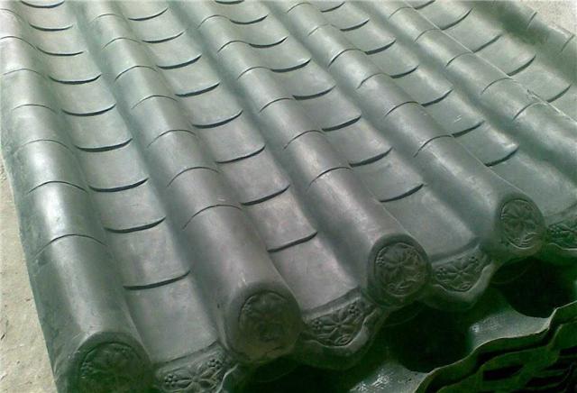 玻璃钢瓦安装 玻璃钢瓦价格图片