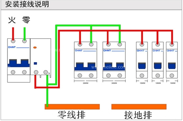 漏电断路器工作原理 漏电断路器接法