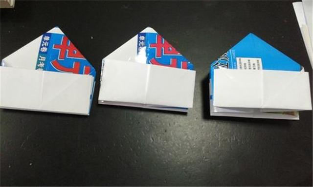 家居diy:纸盒的折法 纸盒的折法图解