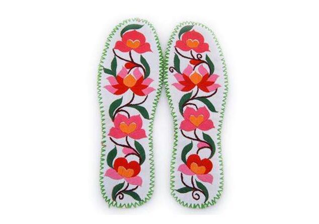 【图】绣花鞋垫的绣法?绣花鞋垫价格
