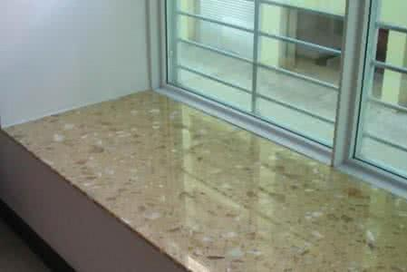 飘窗台面是用大理石还是直接用瓷砖?
