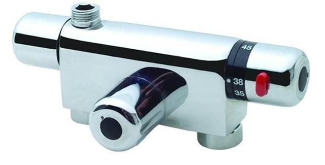 恒温阀作为一种新型的阀门,代替了普通的冷热调节水阀,解决了洗浴过程中因压力变化快、温度变化快导致的水温忽冷忽热和难以调节的问题。接下来小编就来介绍一下恒温阀工作原理以及恒温阀安装图解,希望能够帮助大家更好的了解恒温阀。    恒温阀工作原理   洗浴恒温阀   在恒温出水处装有高灵敏记忆合金螺旋式温感探头,探头感温自身伸长或收缩直接控制冷热水的进水流量使出水温度始终达到所设定的温度(2555)。洗浴过程中若出现冷热水单管断水时,能瞬间自动停水,防止烫伤和着凉;冷热水进口设有单向阀的设置有效的防止了冷热