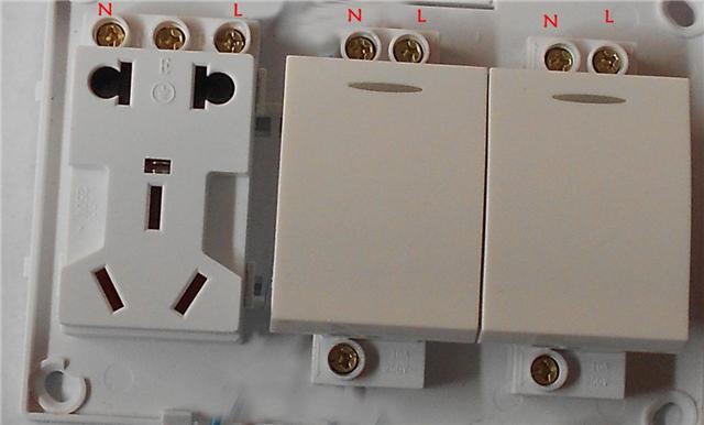 双联双控——多用于两个位置对一个点位灯光开关的控制,或两个点