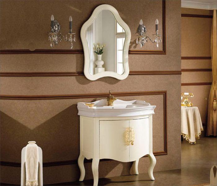 欧式浴室柜图片大全 奢华大气有内涵