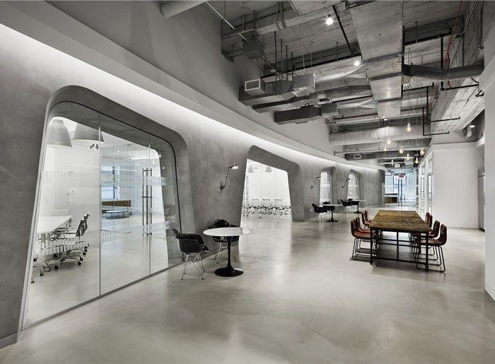 装修保障网 装修学堂 行业动态 装修风格说     裸露的天花板和混凝土