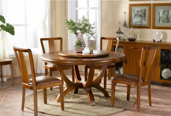 实木餐桌椅尺寸